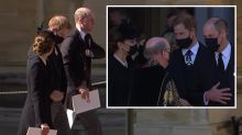 What Harry and William really spoke about outside funeral service