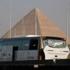 Egyptian security forces kill 12 suspected militants after bus bombing