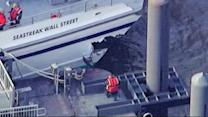 High-speed ferry strikes NYC dock; dozens injured (PHOTOS)