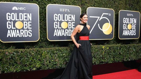 Golden Globes gowns are going up for auction