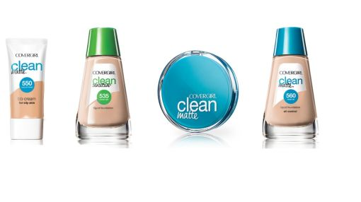 Use COVERGIRL® Clean Matte Foundation Makeup!
