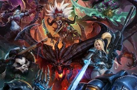 Heroes of the Storm shows off its first key artwork pre-BlizzCon