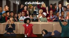 'CASSIUS' Releases June Digital Cover Featuring 30 Iconic Figures Attending 'The First Supper' (#thefirstsupper)