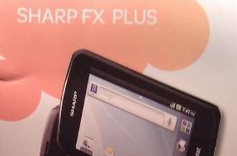 Sharp FX Plus for AT&T caught on Walmart brochure, shows off its Froyo side