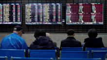 Asian markets track gains on Wall Street