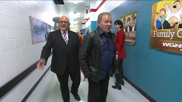 WGN Rolls Out the Red Carpet for Shatner