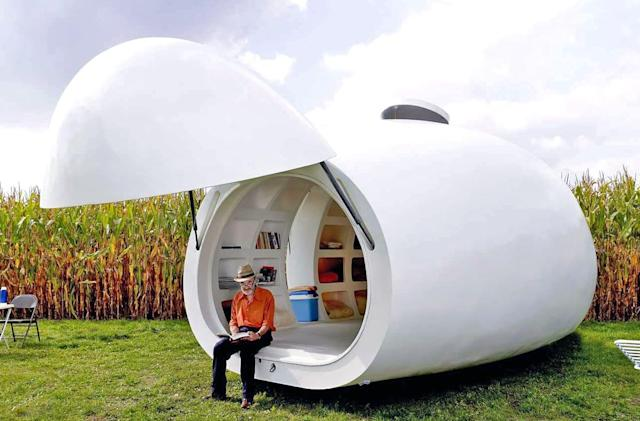Seven tiny mobile homes