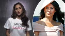 'I won't stand for racism': Meghan Markle speaks out in uncovered video
