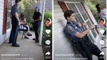 A Georgia police officer was fired after a viral TikTok showed him tasing a Black woman outside her home