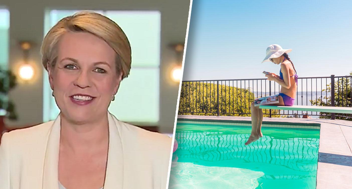 Tanya Plibersek reveals her family's 'controversial' holiday rule