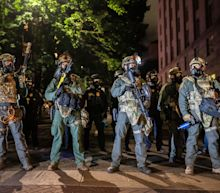 Portland protesters reportedly faced tear gas after the city's mayor banned the local police department from using it