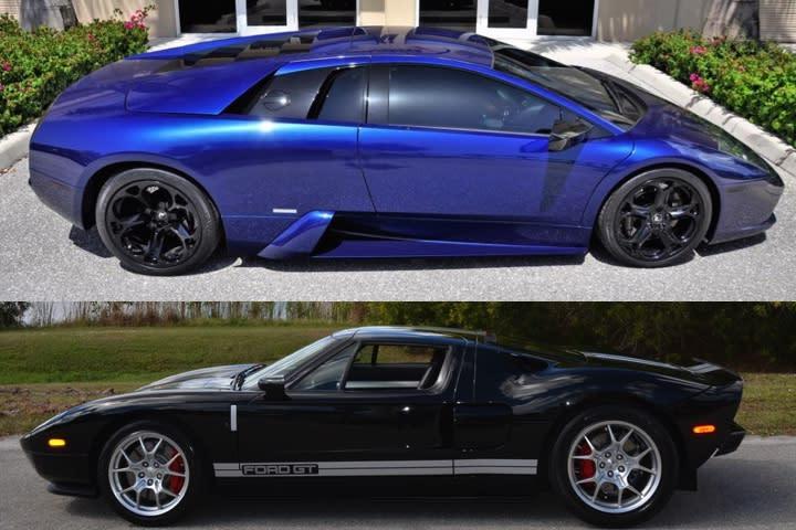 Pristine 2005 Ford Gt Or 1 000hp Lamborghini Murcielago Which Would
