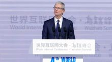 Apple's Cook optimistic that apps pulled in China will be back