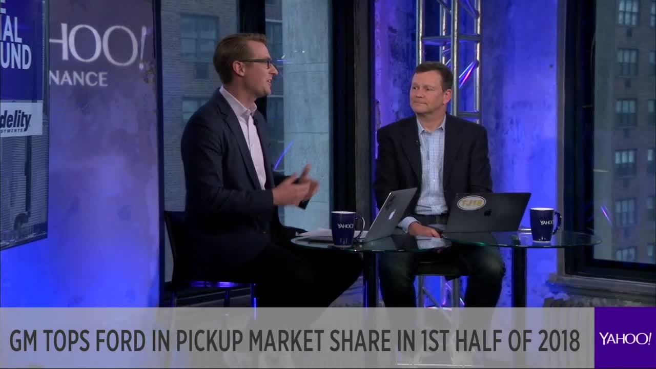 GM tops Ford in pickup market share in 1st half of 2018 [Video] Ford Yahoo Finance on msn finance, google finance, microsoft finance, windows 8 finance,