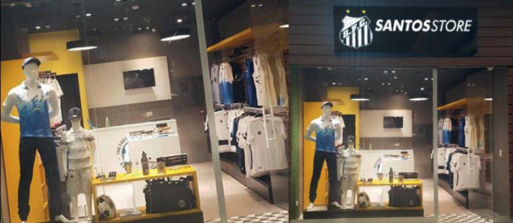 A pedido de torcedores, Santos Store tem nova franquia na Zona Leste