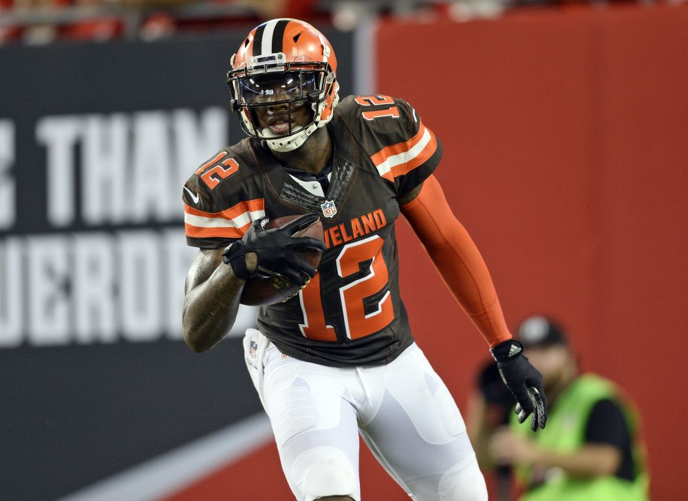 Cleveland Browns wide receiver Josh Gordon is expected to return from suspension on Sunday. (AP)