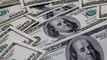 U.S. dollar reaches six-week high on weaker euro, Swiss franc and yen
