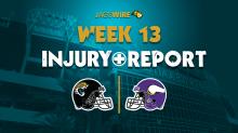 Jags final Week 13 injury report: D.J. Chark set to return vs. Vikings