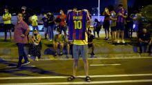 Barcelona fans descend on Camp Nou in Messi exit outrage