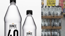 Community outraged over 40-ounce water bottle that resembles malt liquor: 'It's offensive'