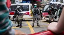 China's military says it is prepared to protect security in Hong Kong, as protests grow