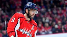 Capitals expected to be without Ovechkin, Kuznetsov, Orlov and Samsonov for 4 games