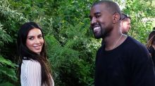 Kim Kardashian Celebrates Her and Kanye West's 4-Year Anniversary With Stunning Wedding Photo