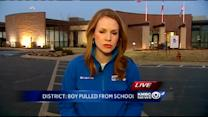 Former teachers shaken by news of handcuffed teen