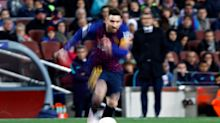 Lionel Messi's otherworldly talent has Barcelona on edge of third European treble