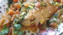 【食譜】揉合西式做法!茄燒黃魚