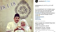 Singapore actor Adi Putra marries for the third time