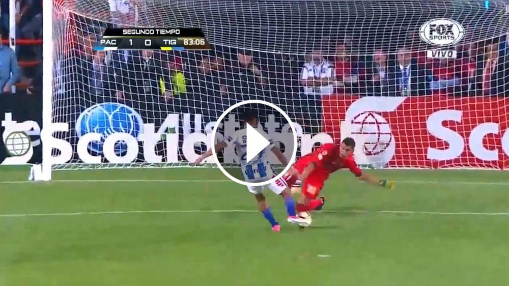 VIDEO: ¡Ay, Nahuel! Jara aprovechó el rebote de Guzmán y abrió el marcador