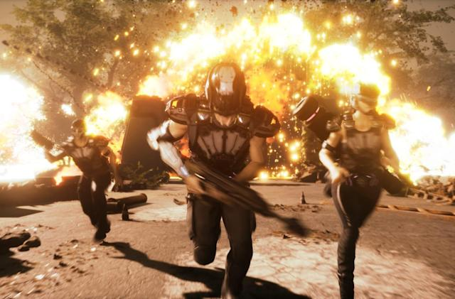 Housemarque knows people are skeptical about 'Stormdivers'