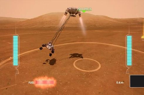 Mars Rover game hits Xbox Live, tasks you with safely landing the Curiosity with Kinect