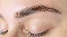 'Eyebrow lamination' sales have surged 2,500% in six months, new data show
