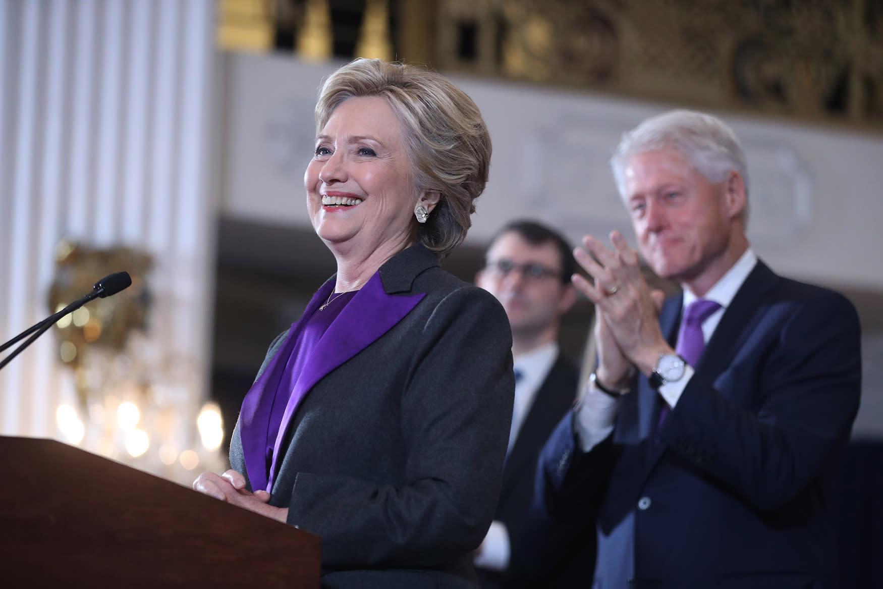 Hillary Clinton: We owe Donald Trump an 'open mind'