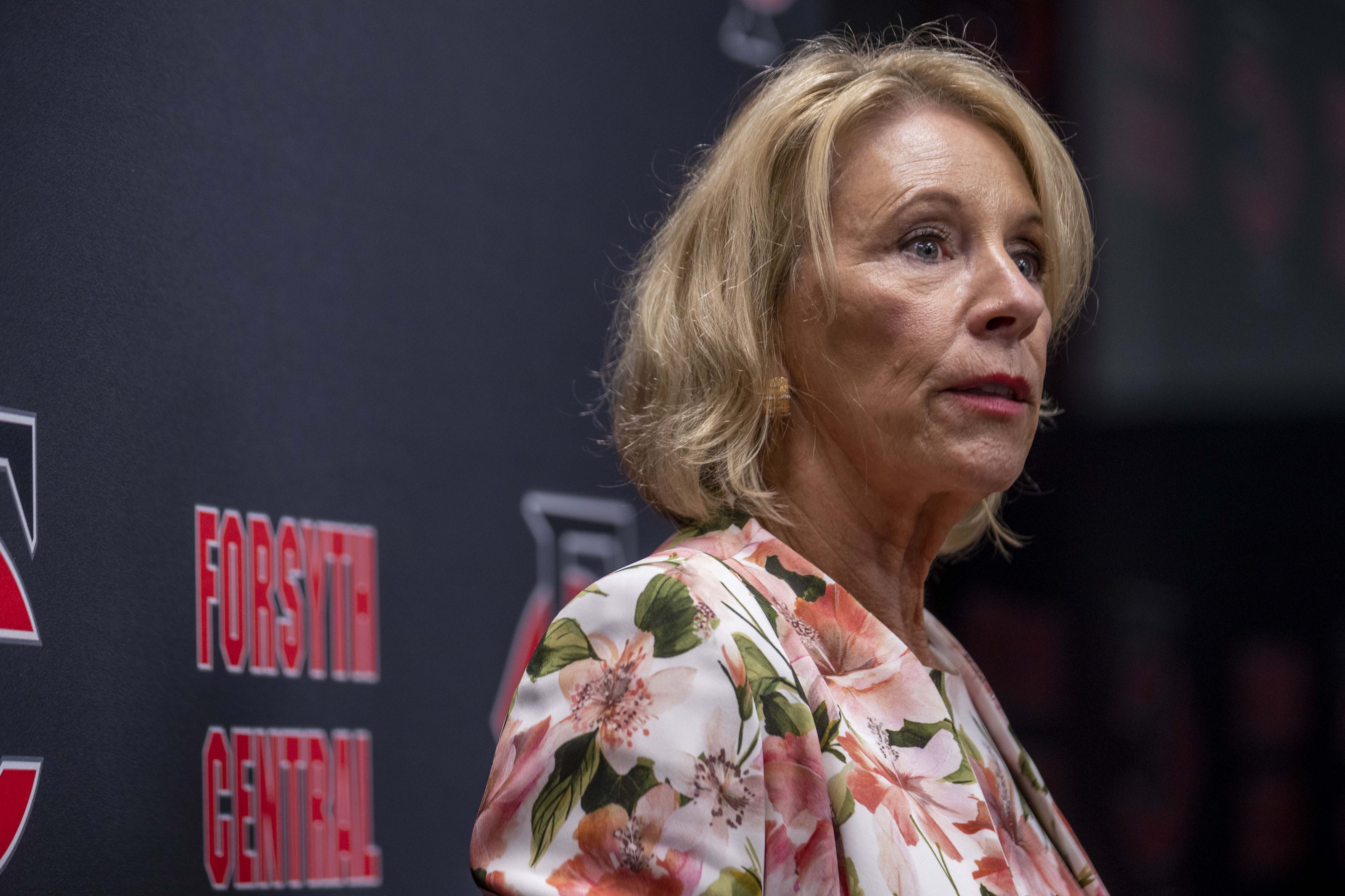 Judge strikes down DeVos plan to boost pandemic relief for private schools