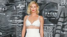 Charlize Theron just wore a bra on the red carpet