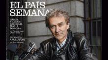 División de opiniones en redes tras la portada de Fernando Simón en moto en El País Semanal. ¿Era necesario?