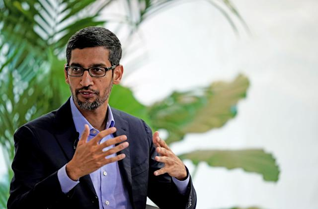 Google makes a $10 billion bet on India