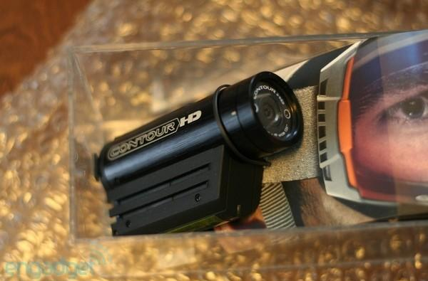 VholdR ContourHD wearable HD camcorder hands-on and impressions