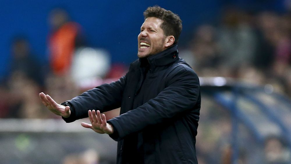 Simeone ensuring Atleti focus is solely on Malaga