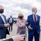 The Latest: Harris-Pence debate will have plexiglass shield