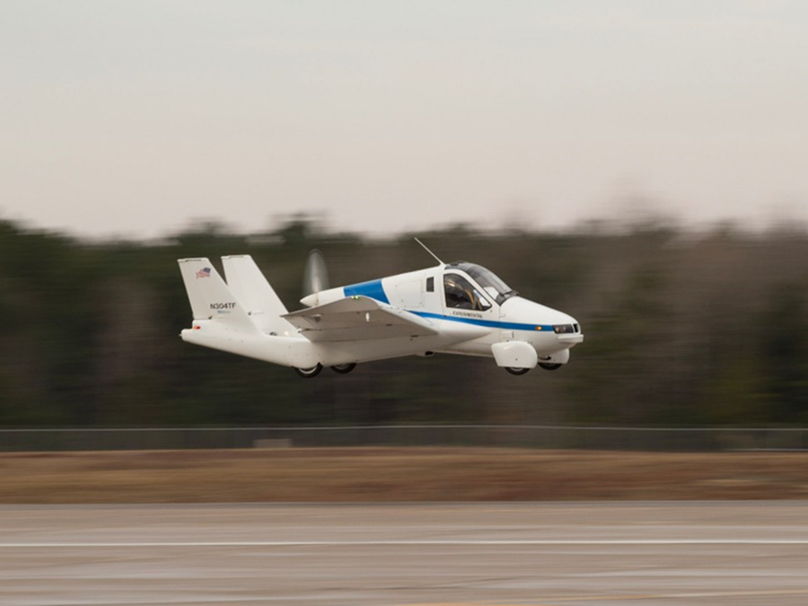 吉利汽車買下TERRAFUGIA飛天汽車 最快2019年量產上市