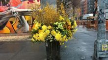 This florist is transforming New York streets with his stealth arrangements
