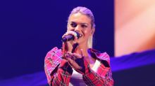 Louisa Johnson shares video of her dancing on a boardroom table in just her bra and knickers