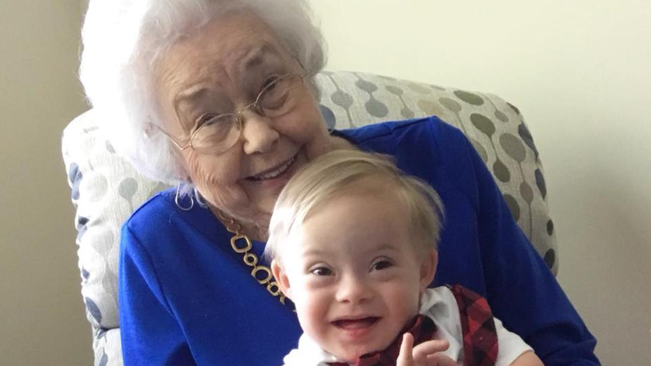 Original Gerber Baby Meets the Newest One