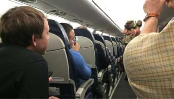 """A passenger who took her pig on a US Airways flight was asked to leave when it became disruptive. <a href=""""http://travel.aol.co.uk/2014/11/28/passenger-disruptive-pig-removed-us-airways-plane/"""" target=""""_blank"""">The pig was travelling with the woman for emotional support</a>. A passenger who was sat next to her said: """"We could smell it and it was a pig on a leash. She tethered it to the arm rest next to me and started to deal with her stuff, but the pig was walking back and forth. I was terrified, because I was thinking I'm gonna be on the plane with the pig."""""""