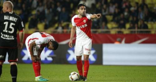 Foot - L1 - Monaco - Monaco : Radamel Falcao buteur sur coup franc direct 53 mois après
