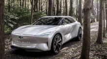 Infiniti Qs Inspiration shows itself before Auto Shanghai